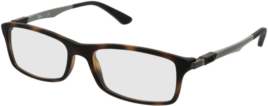 Picture of glasses model Ray-Ban RX7017 5200 54-17 in angle 330