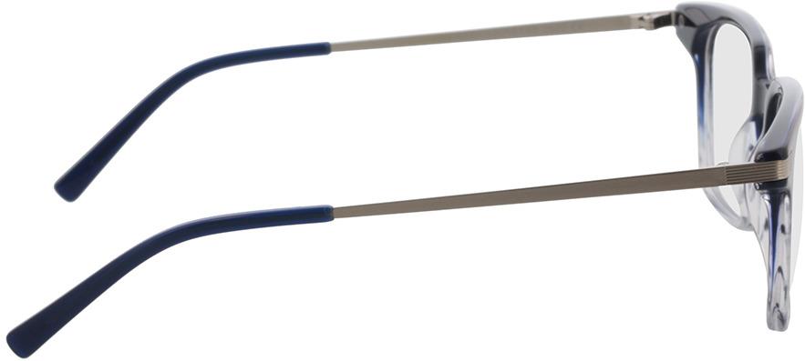 Picture of glasses model Moca-blau/silber in angle 90