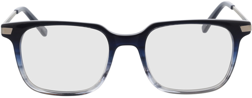 Picture of glasses model Moca-blau/silber in angle 0