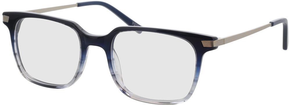 Picture of glasses model Moca-blau/silber in angle 330