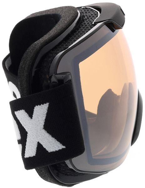 Picture of glasses model Uvex Skibrille Downhill 2000 V Black/Vario in angle 90