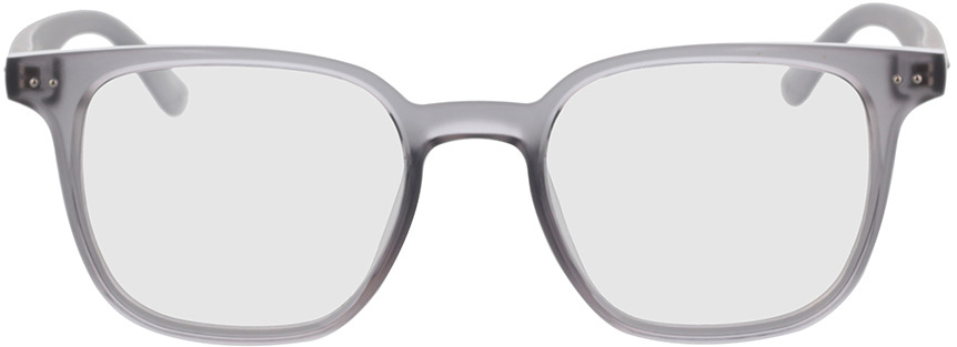 Picture of glasses model Castro-grau-transparent in angle 0