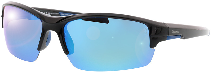 Picture of glasses model Timberland TB9173 01D 70-10 in angle 330