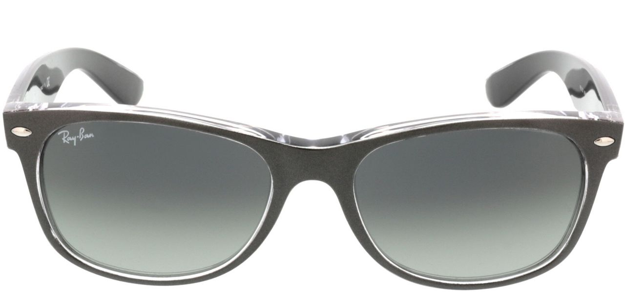 Picture of glasses model Ray-Ban New Wayfarer RB2132 614371 55-18 in angle 0
