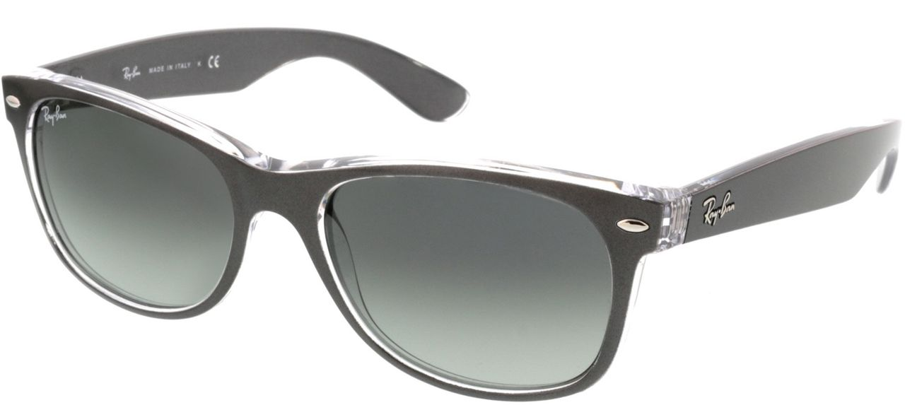 Picture of glasses model Ray-Ban New Wayfarer RB2132 614371 55-18 in angle 330