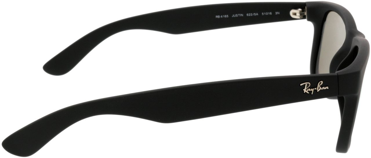 Picture of glasses model Ray-Ban Justin RB4165 622/5A 51-16 in angle 90