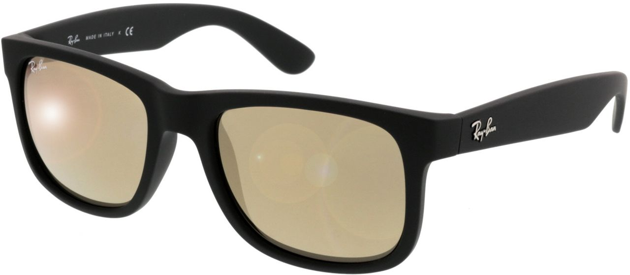 Picture of glasses model Ray-Ban Justin RB4165 622/5A 51-16 in angle 330