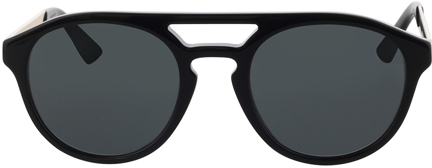 Picture of glasses model Gucci GG0689S-001 53-23 in angle 0