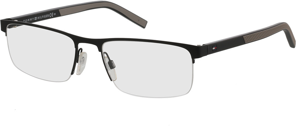 Picture of glasses model Tommy Hilfiger TH 1594 003 55-18 in angle 330