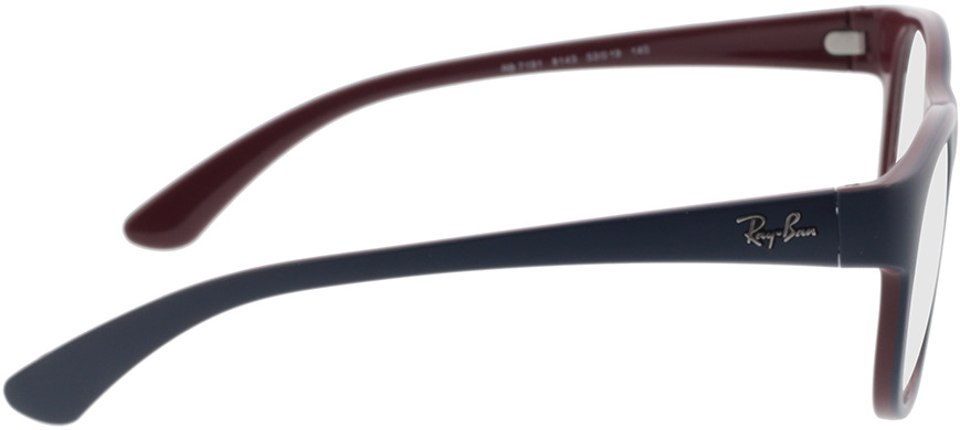 Picture of glasses model Ray-Ban RX7191 8143 53-19 in angle 90