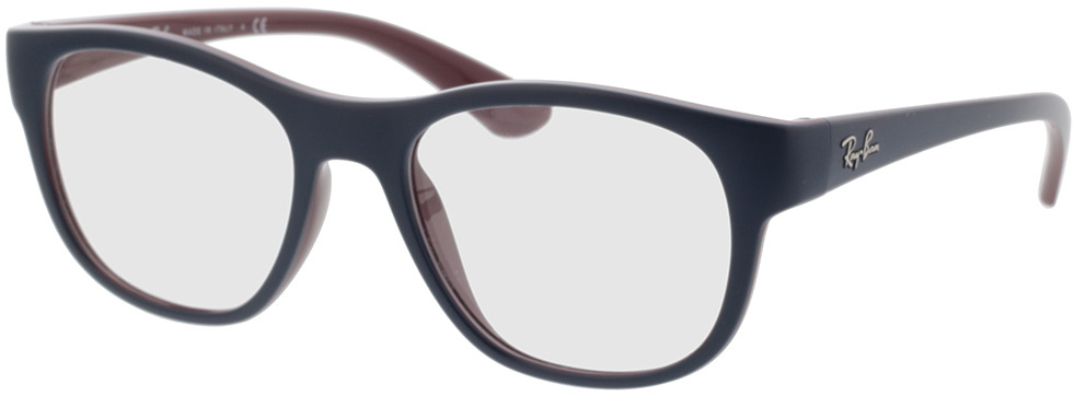 Picture of glasses model Ray-Ban RX7191 8143 53-19 in angle 330