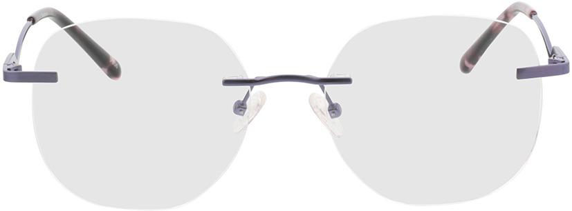 Picture of glasses model Gardena-lila in angle 0