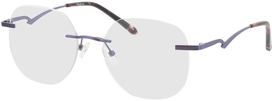 Picture of glasses model Gardena-lila in angle 330