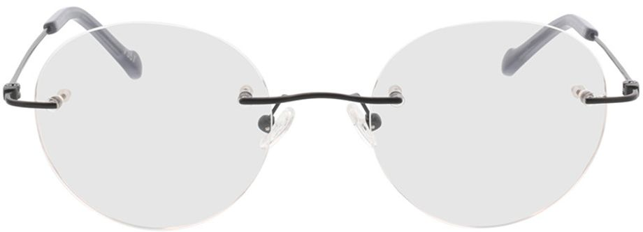 Picture of glasses model Molina-schwarz in angle 0