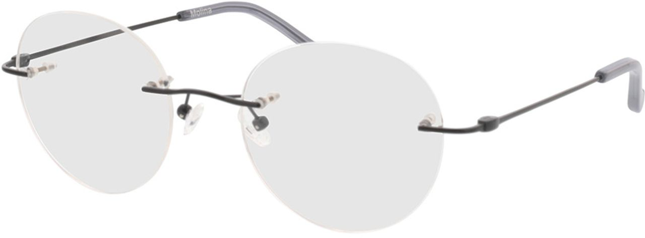 Picture of glasses model Molina-schwarz in angle 330