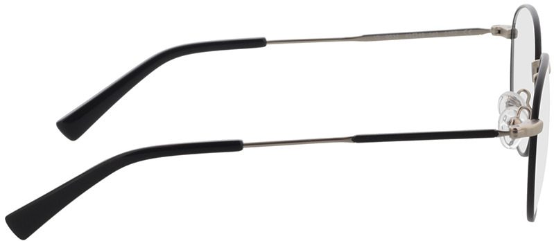 Picture of glasses model Cameron Zwart/mat zilver in angle 90