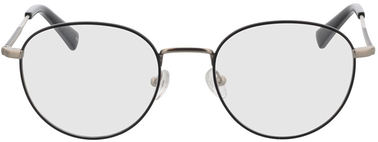Picture of glasses model Cameron Zwart/mat zilver in angle 0