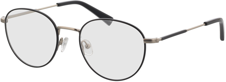 Picture of glasses model Cameron Zwart/mat zilver in angle 330