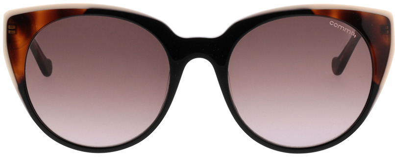 Picture of glasses model Comma, 77075 63 Zwart/transparant havanna 53-19 in angle 0