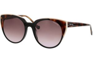 77075 63 schwarz/transparent havanna 53-19