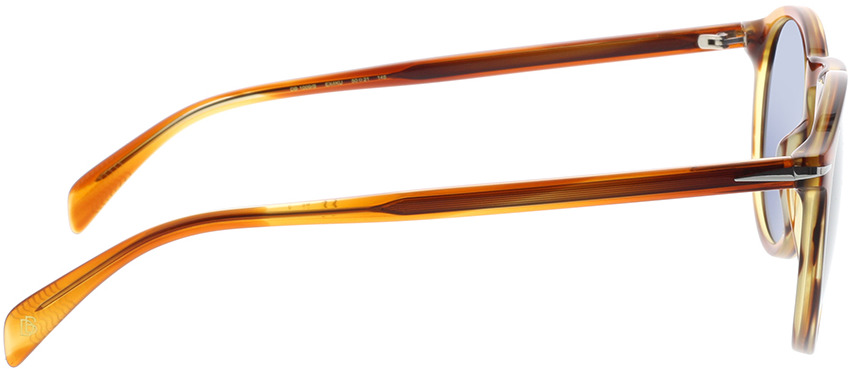 Picture of glasses model David Beckham DB 1009/S EX4 50-21 in angle 90