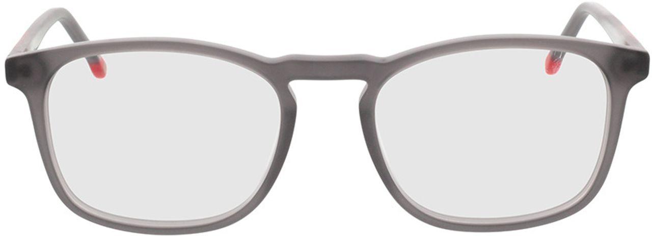 Picture of glasses model Volano-matt transparent grau in angle 0