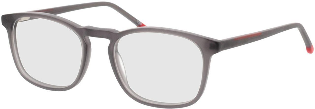 Picture of glasses model Volano-matt transparent grau in angle 330
