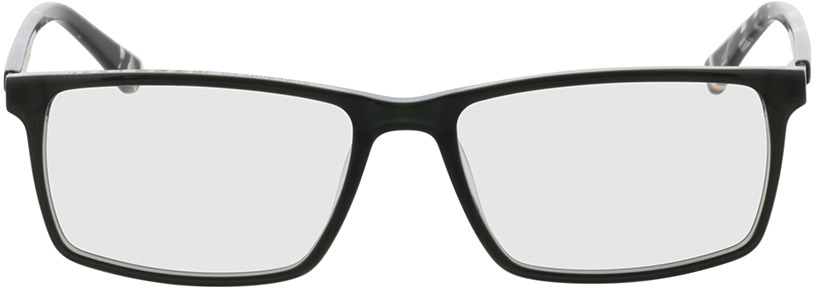 Picture of glasses model Superdry SDO Arno 107 dark green/transparent green patterned 56-17 in angle 0