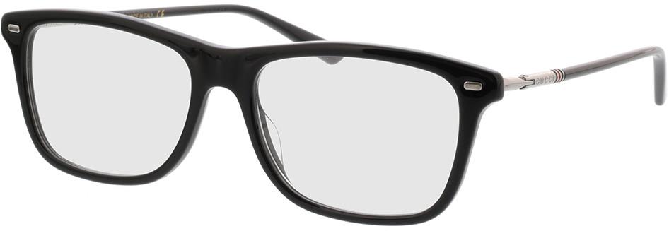 Picture of glasses model Gucci GG0519O-005 55-17 in angle 330