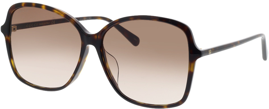 Picture of glasses model Gucci GG0546SK-002 60-14