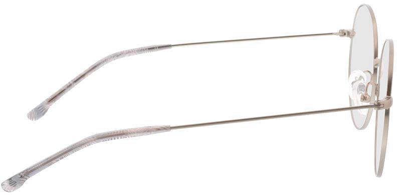 Picture of glasses model Bondy-matt silber in angle 90