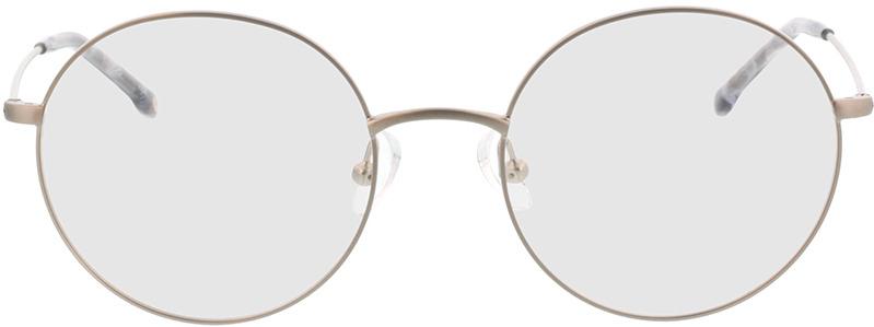 Picture of glasses model Bondy-matt silber in angle 0