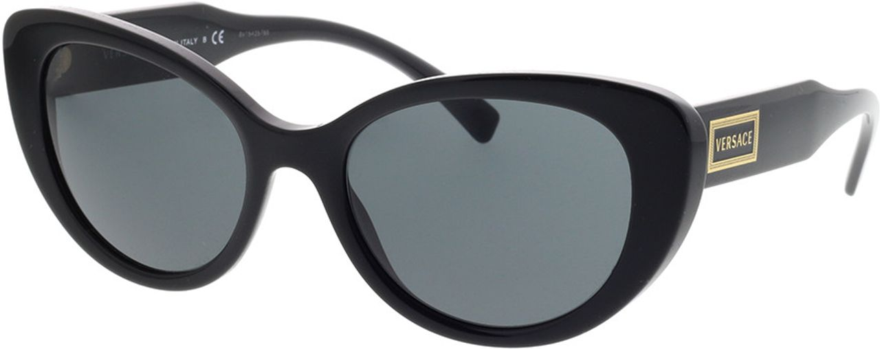 Picture of glasses model Versace VE4378 GB1/87 54-19 in angle 330