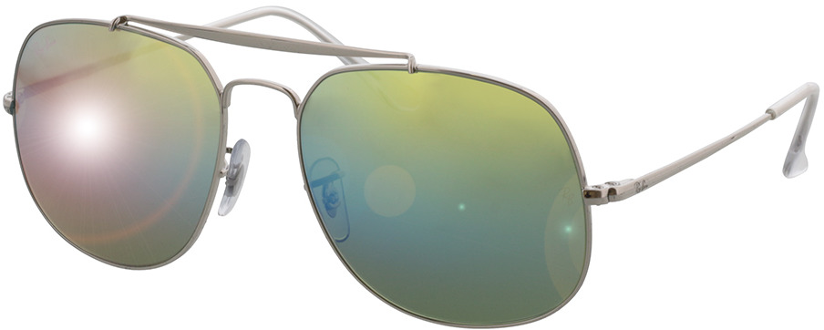 Picture of glasses model Ray-Ban The General RB3561 003/I2 57-17 in angle 330