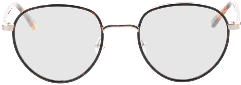 Picture of glasses model Miles-braun-meliert in angle 0