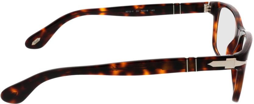 Picture of glasses model Persol PO3012V 24 52-18 in angle 90
