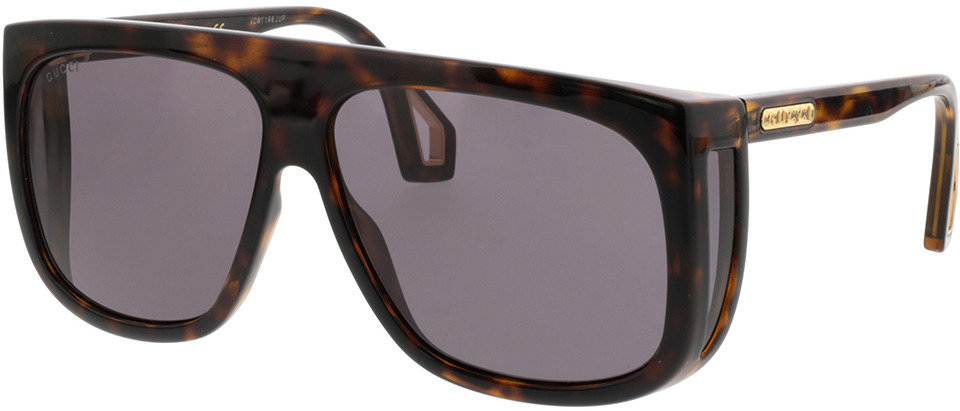 Picture of glasses model Gucci GG0467S-003 62-12 in angle 330