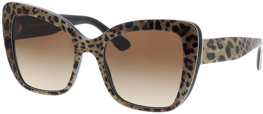 Picture of glasses model Dolce&Gabbana DG4348 316313 54-20 in angle 330