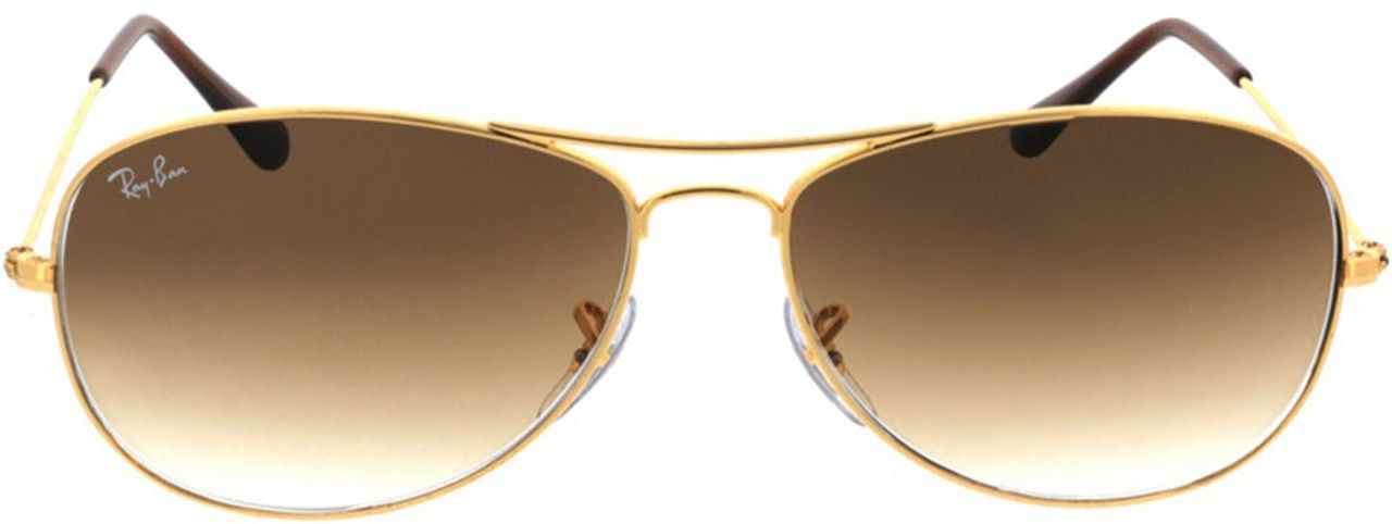 Picture of glasses model Ray-Ban Cockpit RB3362 001/51 59-14 in angle 0