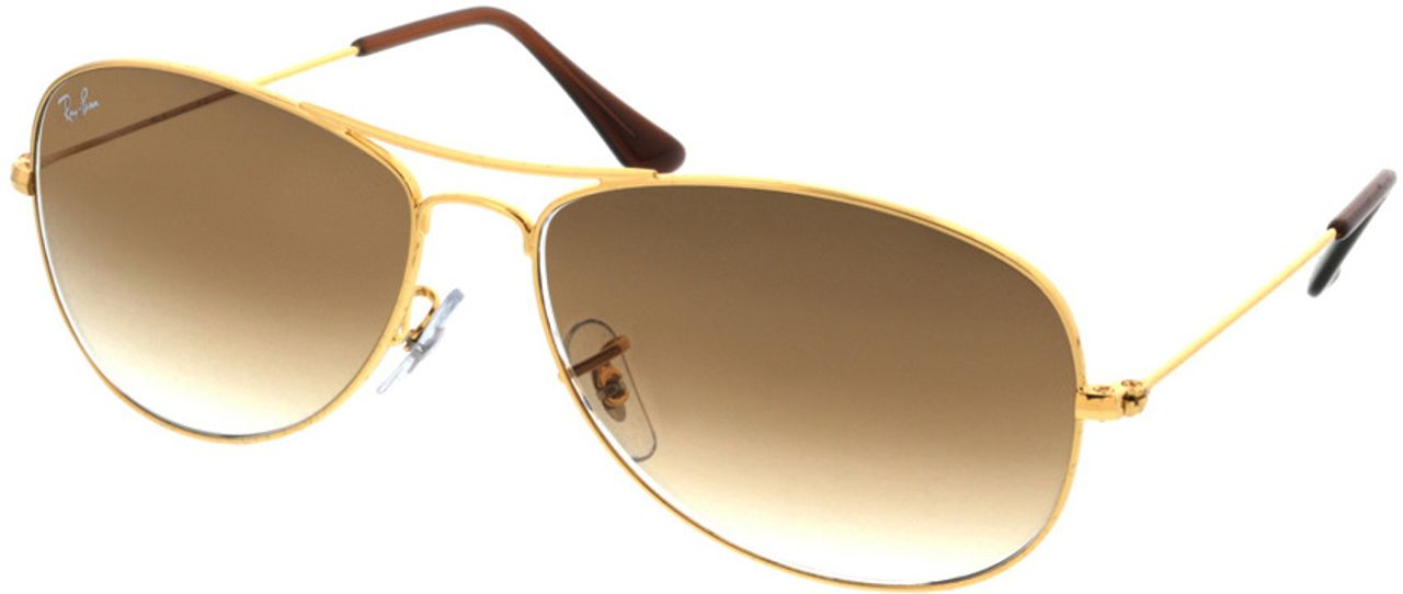 Picture of glasses model Ray-Ban Cockpit RB3362 001/51 59-14 in angle 330