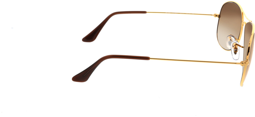 Picture of glasses model Ray-Ban Cockpit RB3362 001/51 59-14 in angle 90