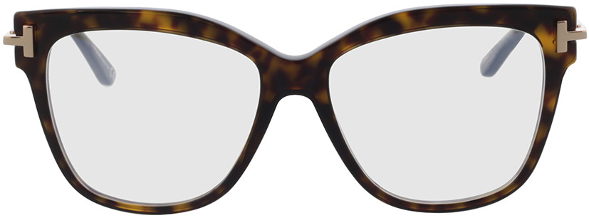 Picture of glasses model Tom Ford FT5704-B 052 54-15 in angle 0