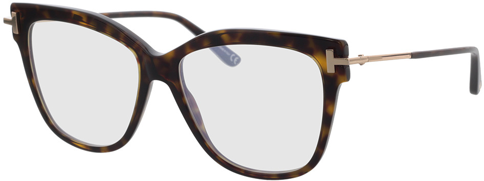 Picture of glasses model Tom Ford FT5704-B 052 54-15 in angle 330