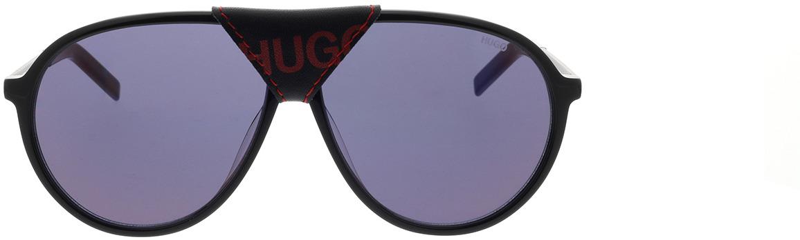 Picture of glasses model Hugo HG 1091/S OIT 61-12 in angle 0
