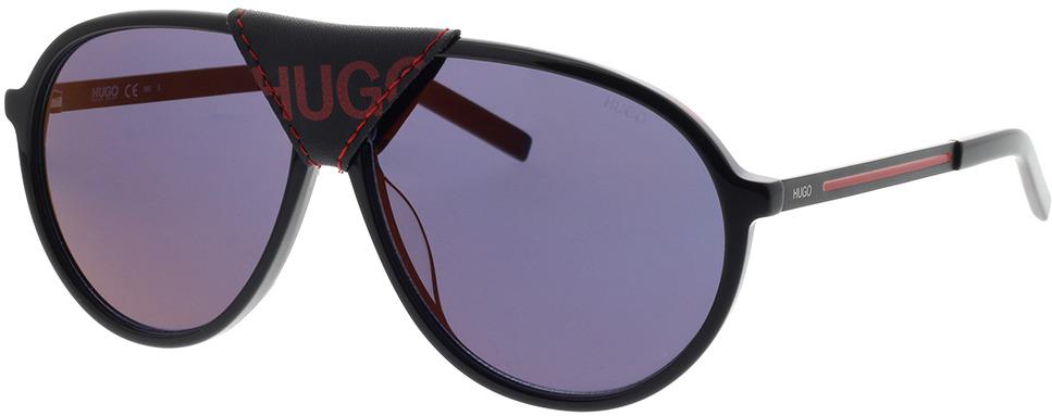 Picture of glasses model Hugo HG 1091/S OIT 61-12 in angle 330