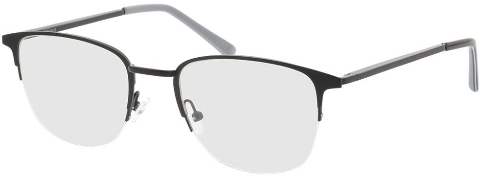 Picture of glasses model Miran-matt schwarz/grau in angle 330