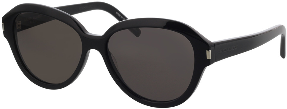 Picture of glasses model Saint Laurent SL 400-001 58-15 in angle 330