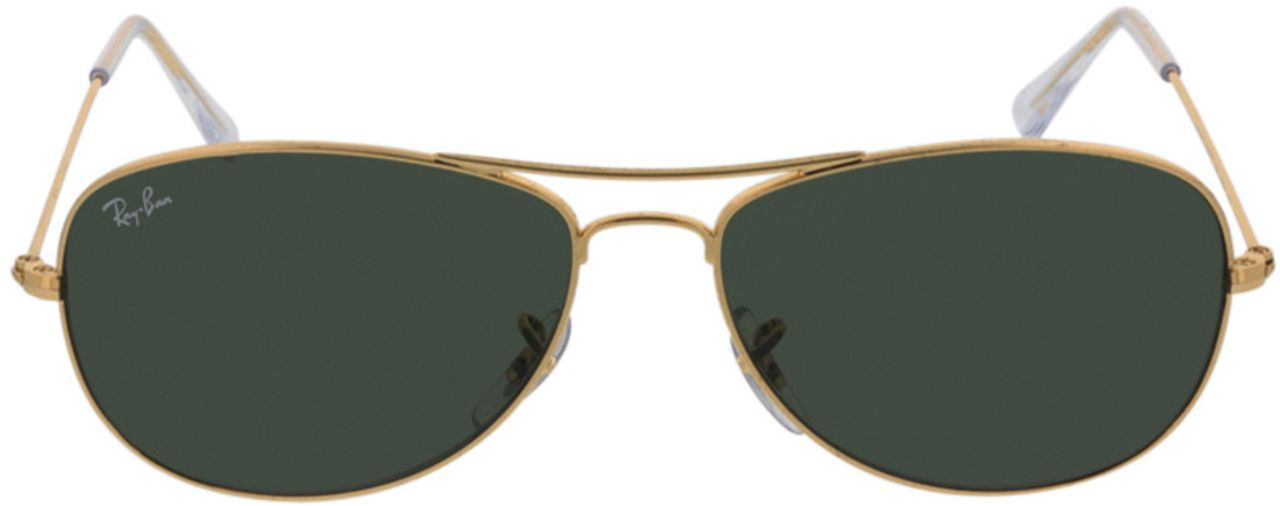 Picture of glasses model Ray-Ban Cockpit RB3362 001 56-14 in angle 0