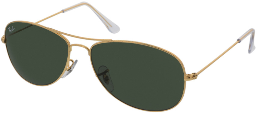 Picture of glasses model Ray-Ban Cockpit RB3362 001 56-14