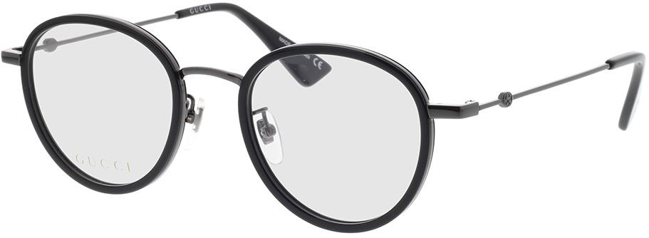 Picture of glasses model Gucci GG0608OK-002 49-21 in angle 330